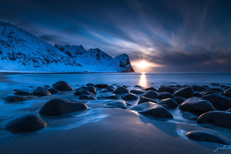 Les ombres bleues – Iles Lofoten