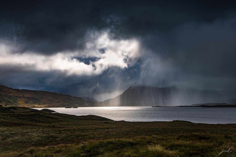Paysage du nord de l'Ecosse – Landscape of the north of Scotland