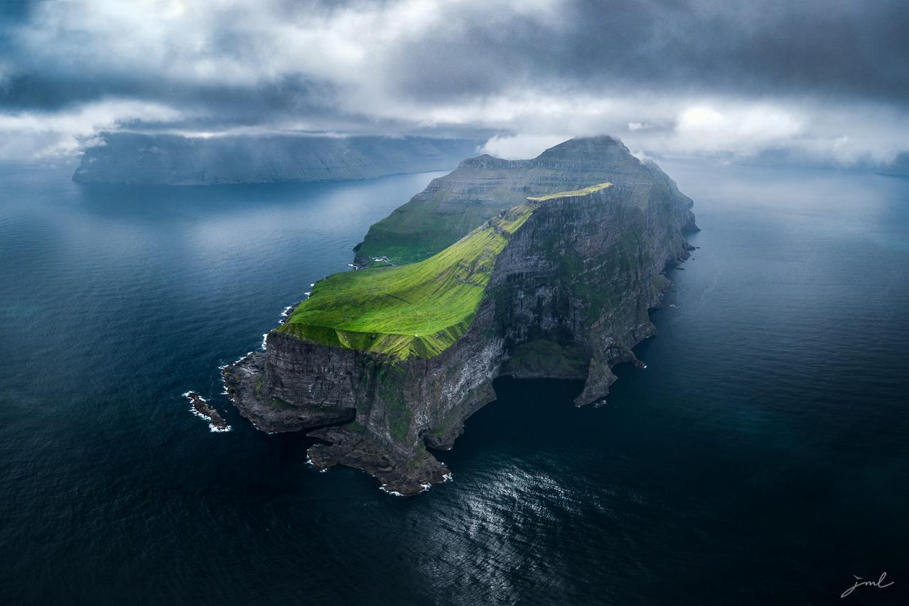 Paysage des iles Feroe