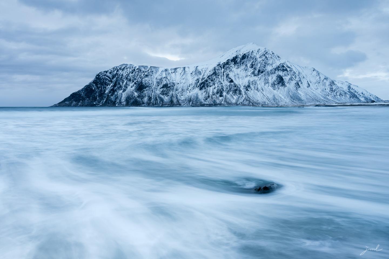 L'heure bleue des iles Lofoten