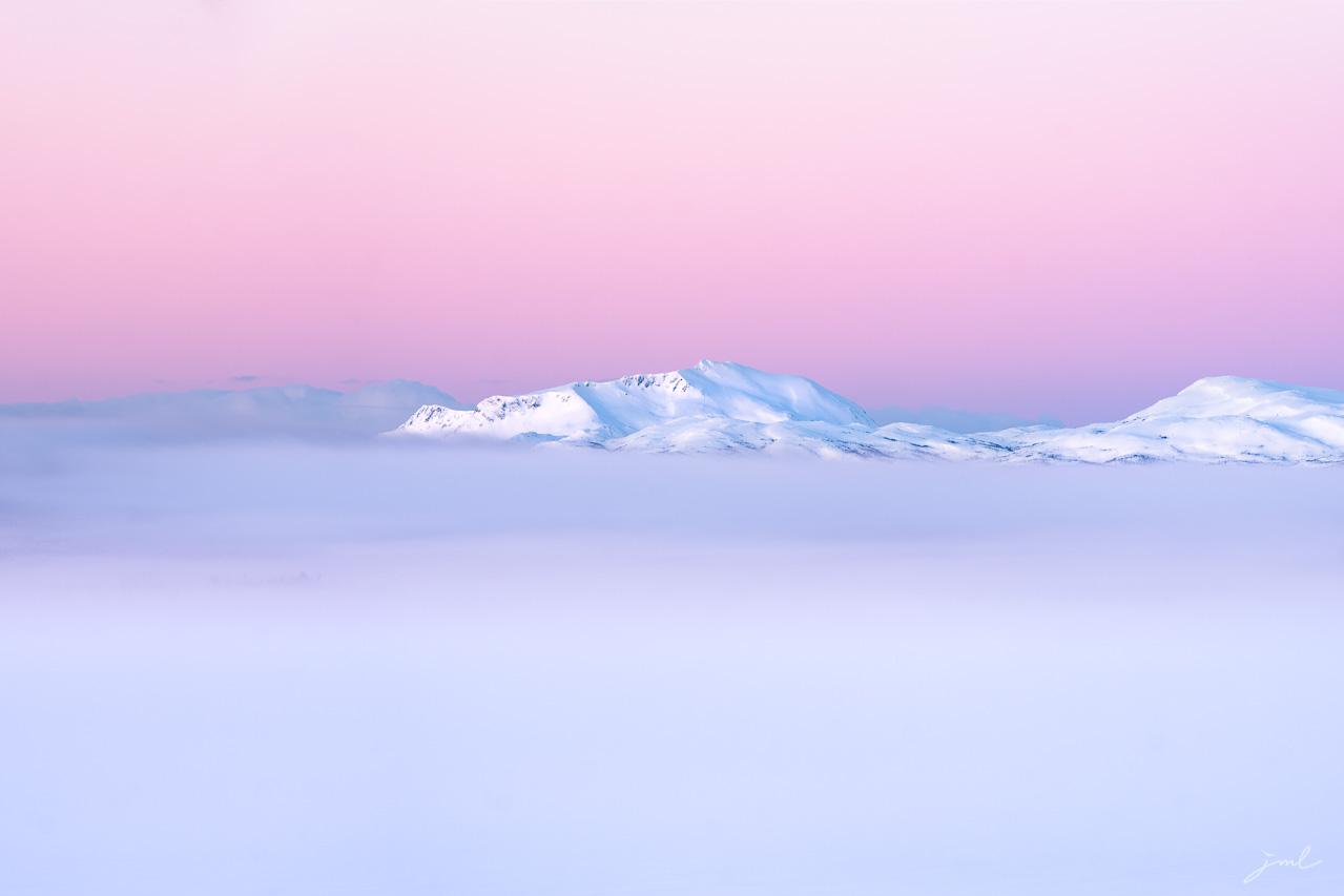 Paysage de Norvege