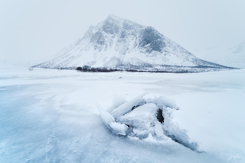Aileron de glace – Ile de Senja